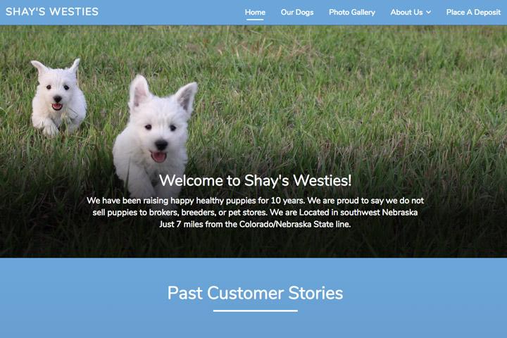 Shay's Westies