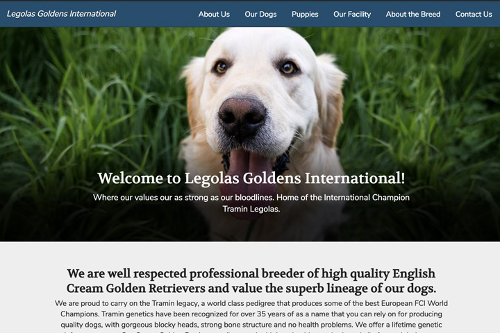 Legolas Goldens International